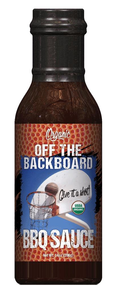 off the backboard sauce