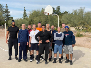 pickup basketball in Phoenix