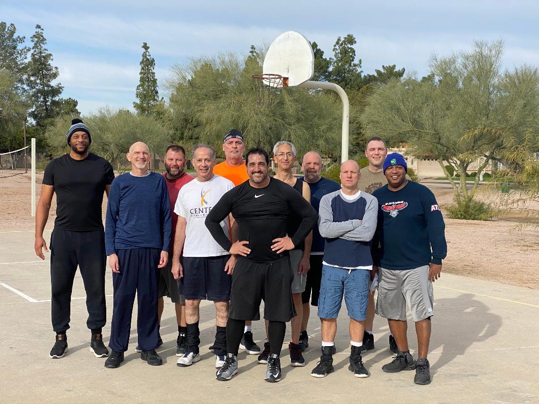 pickup basketball in Phoenix