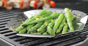 Grilling basket for veggies