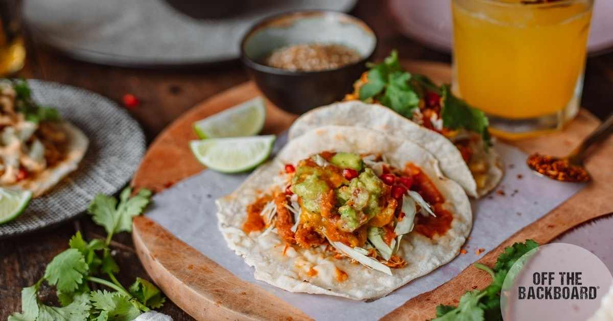 Lime Chicken Tacos with a Kick