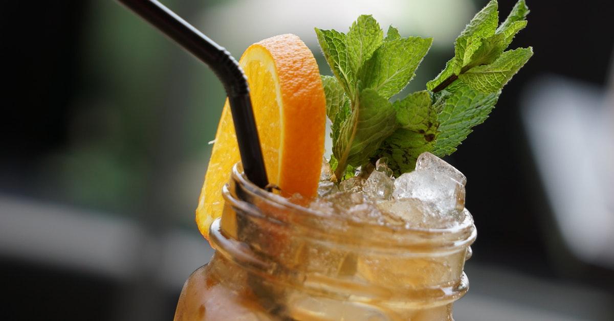 Bourbon Iced Tea