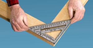 Speed square ruler